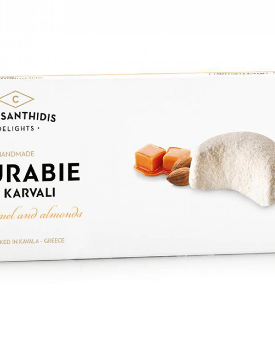 Kourabie with Caramel & Almonds was awarded two stars from iTQi!