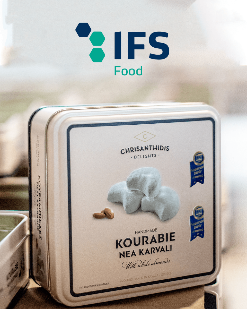 We are IFS Food certified!